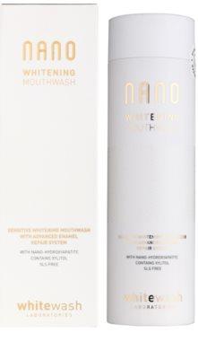 Whitewash Nano apa de gura pentru refacerea smaltului si albirea sigura 1