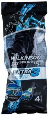 Wilkinson Sword Extra 3 Activ jednorázová holítka 4 ks