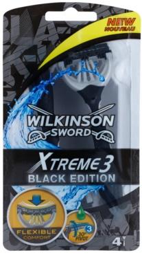 Wilkinson Sword Xtreme 3 Black Edition brivniki za enkratno uporabo