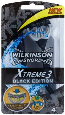 Wilkinson Sword Xtreme 3 Black Edition одноразова бритва
