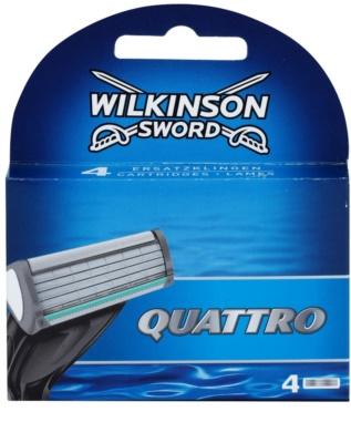 Wilkinson Sword Quattro nadomestne britvice 4 kos