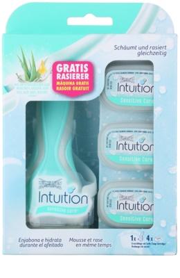 Wilkinson Sword Intuition Sensitive Care maquinilla de afeitar + recambios de cuchillas 4 uds