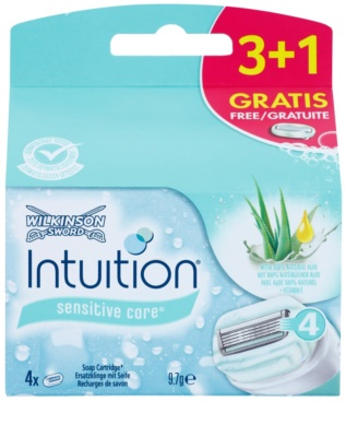 Wilkinson Sword Intuition Sensitive Care recarga de lâminas