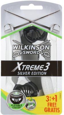 Wilkinson Sword Xtreme 3 Silver Edition aparat de ras de unică folosință