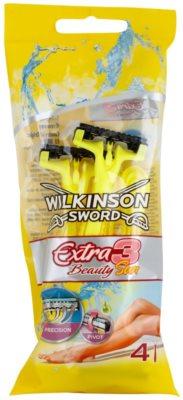 Wilkinson Sword Extra 3 Beauty Sun jednorázová holítka 4 ks