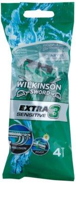 Wilkinson Sword Extra 3 Sensitive lâmina descartável