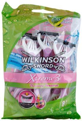 Wilkinson Sword Xtreme 3 Beauty Sensitive jednorázová holítka 8 ks