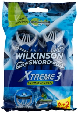 Wilkinson Sword Xtreme 3 Ultimate Plus jednorázová holítka 8 ks