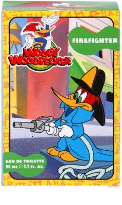 Woody Woodpecker Firefighter toaletní voda pro děti 4