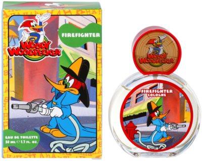 Woody Woodpecker Firefighter toaletní voda pro děti
