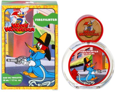 Woody Woodpecker Firefighter тоалетна вода за деца