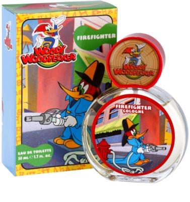 Woody Woodpecker Firefighter toaletní voda pro děti 1