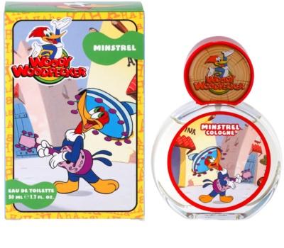 Woody Woodpecker Minstrel toaletná voda pre deti