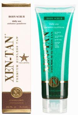 Xen-Tan Care пілінг для тіла для підвищення стійкості засмаги 1