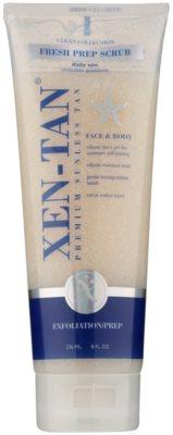 Xen-Tan Clean Collection exfoliante corporal refrescante para prolongar el bronceado
