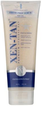 Xen-Tan Clean Collection освежаващ пилинг за тяло удължаващ загара