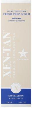 Xen-Tan Clean Collection frissítő testpeeling hosszabbítja a napbarnítottságot 2
