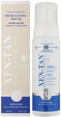 Xen-Tan Clean Collection Selbstbräunungsschaum für Körper und Gesicht 1
