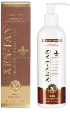 Xen-Tan Dark samoopalovací mléko na tělo a obličej 1