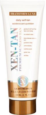 Xen-Tan Light önbarnító krém testre és arcra a fokozatos barnulásért