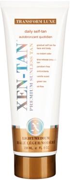 Xen-Tan Light Selbstbräunercreme für Körper und Gesicht für allmähliche Bräunung