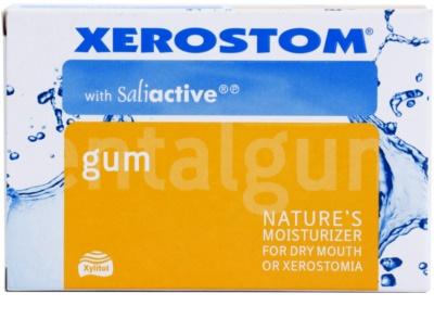 Xerostom SaliActive žvýkačky proti suchu v ústech a xerostomii