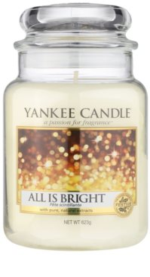 Yankee Candle All is Bright ароматна свещ   Classic голяма