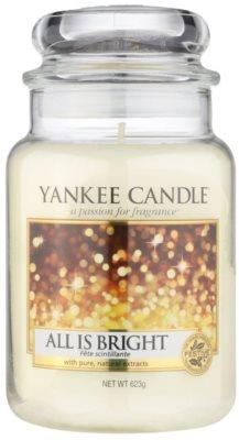 Yankee Candle All is Bright vela perfumado  Classic grande