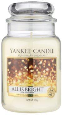 Yankee Candle All is Bright vonná svíčka  Classic velká