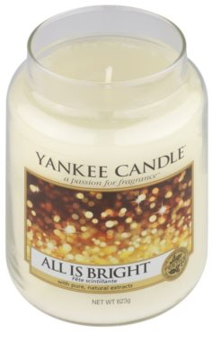 Yankee Candle All is Bright Duftkerze   Classic groß 1