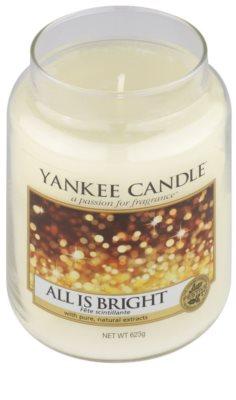 Yankee Candle All is Bright vela perfumado  Classic grande 1