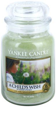 Yankee Candle A Child's Wish ароматизована свічка   Classic велика
