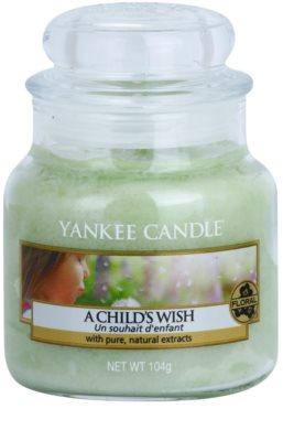 Yankee Candle A Child's Wish świeczka zapachowa   Classic mała