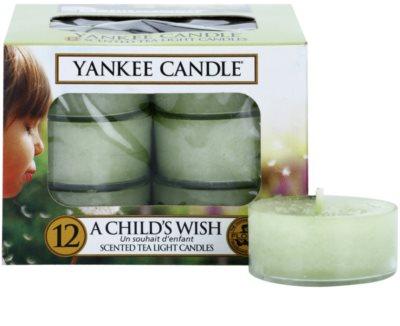 Yankee Candle A Child's Wish vela de té
