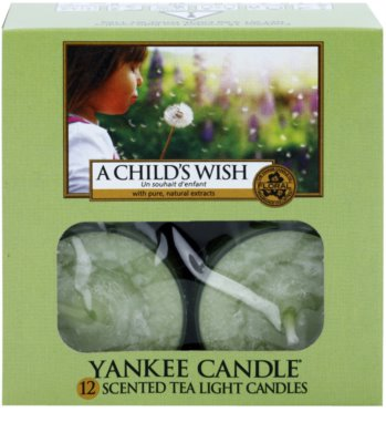 Yankee Candle A Child's Wish чайні свічки 2