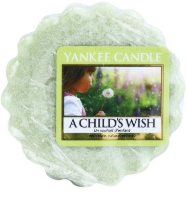 Yankee Candle A Child's Wish cera para lámparas aromáticas