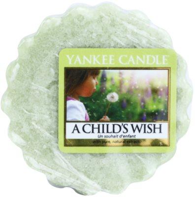 Yankee Candle A Child's Wish vosek za aroma lučko