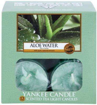 Yankee Candle Aloe Water vela do chá 2