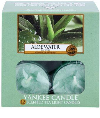 Yankee Candle Aloe Water Чаена свещ 2