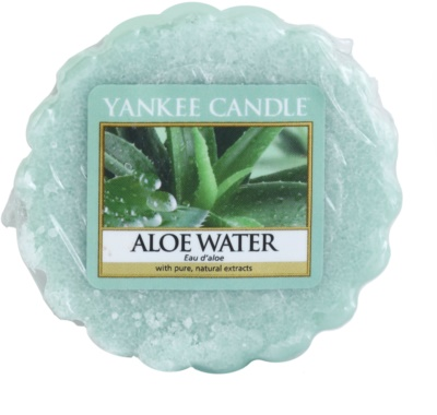 Yankee Candle Aloe Water Wachs für Aromalampen