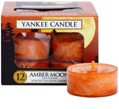 Yankee Candle Amber Moon vela do chá