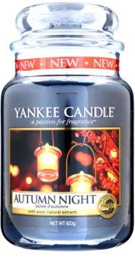 Yankee Candle Autumn Night illatos gyertya   Classic nagy méret