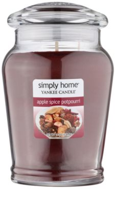 Yankee Candle Apple Spice Potpourri Scented Candle  Large