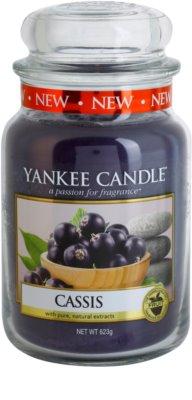 Yankee Candle Cassis vela perfumado  Classic grande