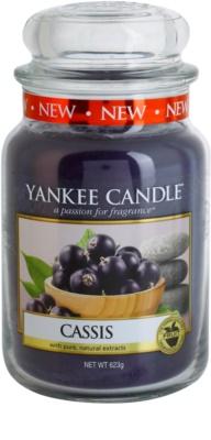 Yankee Candle Cassis vonná sviečka  Classic veľká