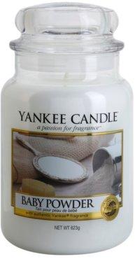 Yankee Candle Baby Powder illatos gyertya   Classic nagy méret