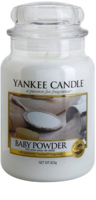Yankee Candle Baby Powder Scented Candle  Classic Large