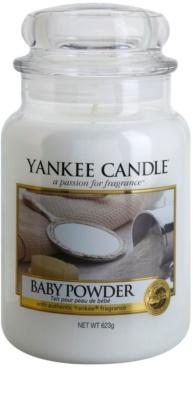 Yankee Candle Baby Powder vela perfumado  Classic grande