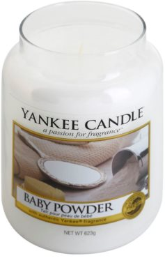 Yankee Candle Baby Powder Scented Candle  Classic Large 1