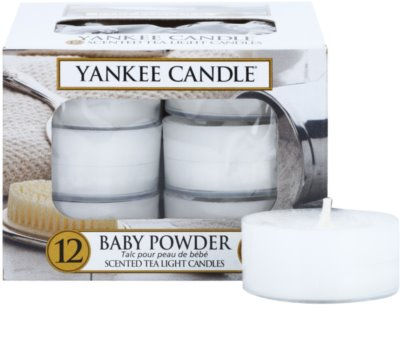 Yankee Candle Baby Powder vela do chá